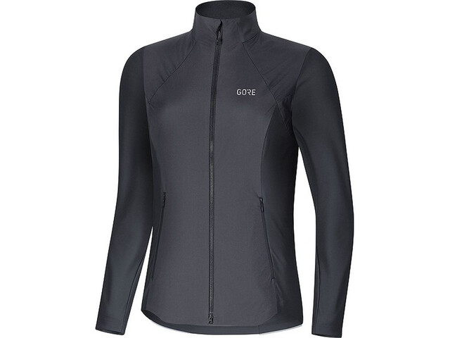 GORE WEAR R5 Gore Windstopper Long Sleeve Shirt Women terra grey/black